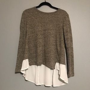 Altar'd State | Gray High Low Sweater
